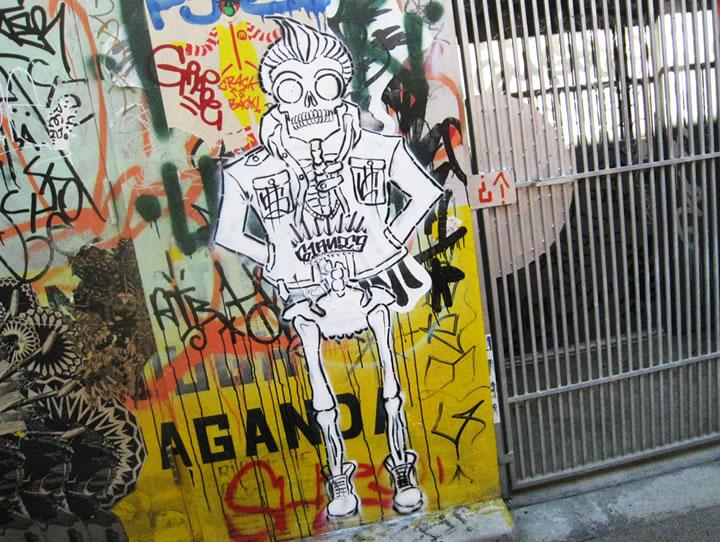 Graffiti in the Mission District
