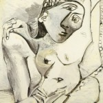 Femme a loreiller (Woman on a pillow) 1969